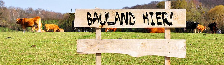 Bauland verkaufen