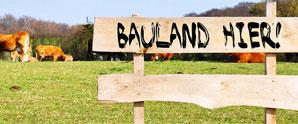 Verkauf von Bauland